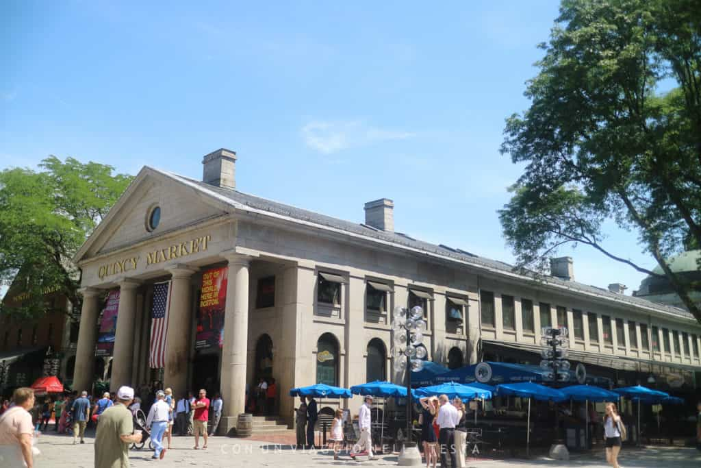 cosa vedere a boston: Il Quincy Market