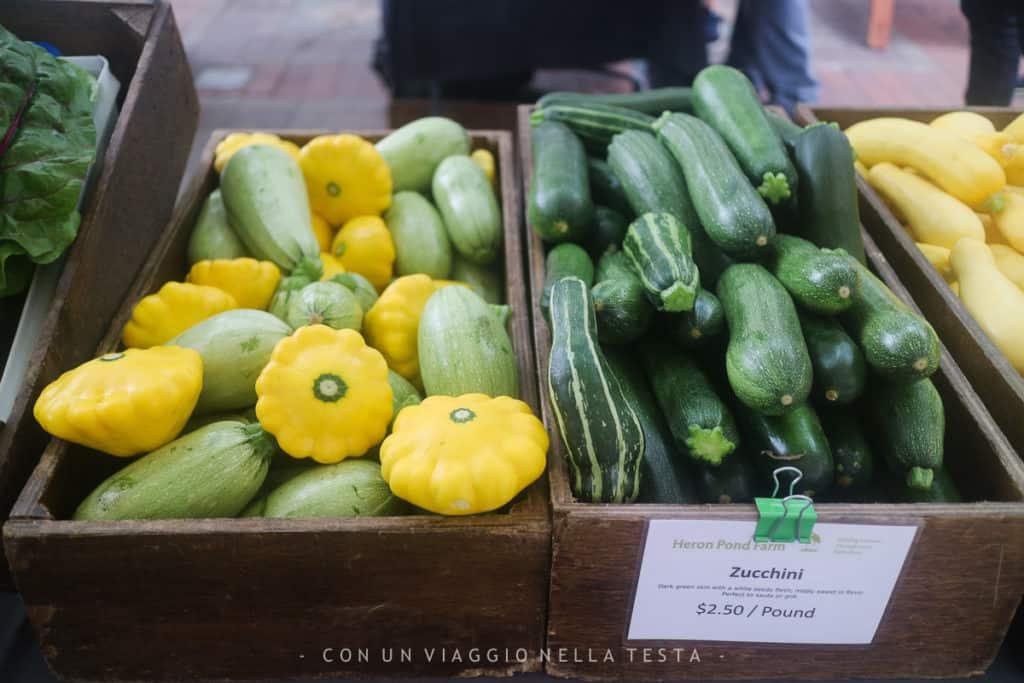 cosa vedere a boston: Una bancarella del Farmer's Market