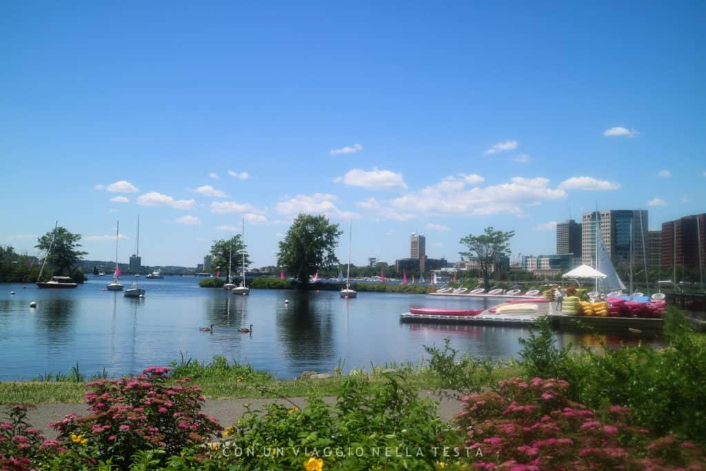 cosa vedere a boston: Scorci della Charles River Esplanade