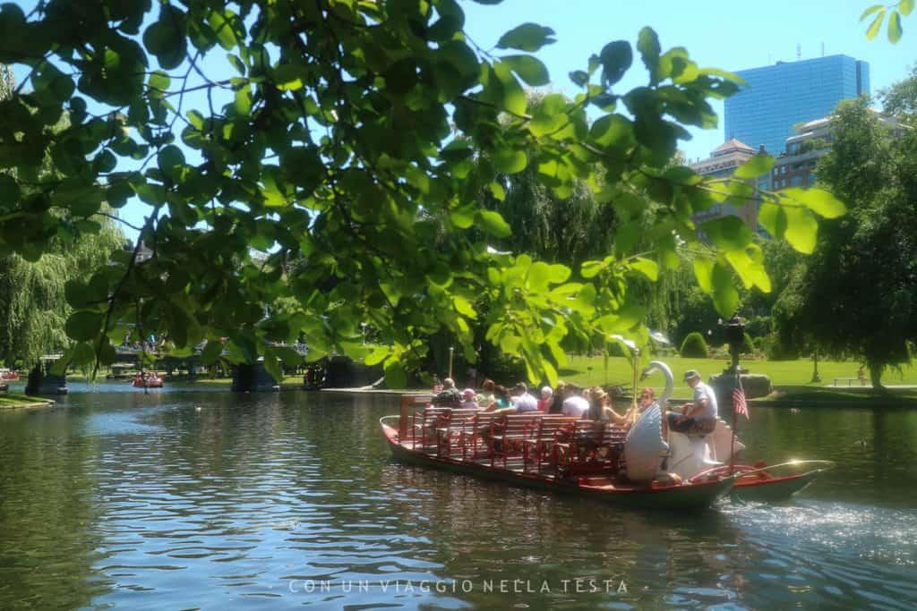cosa vedere a boston: Public Garden Boston