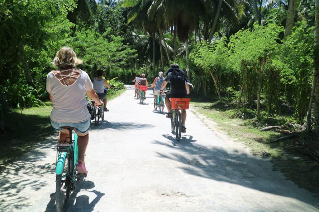 organizzare un viaggio alle seychelles in bicicletta