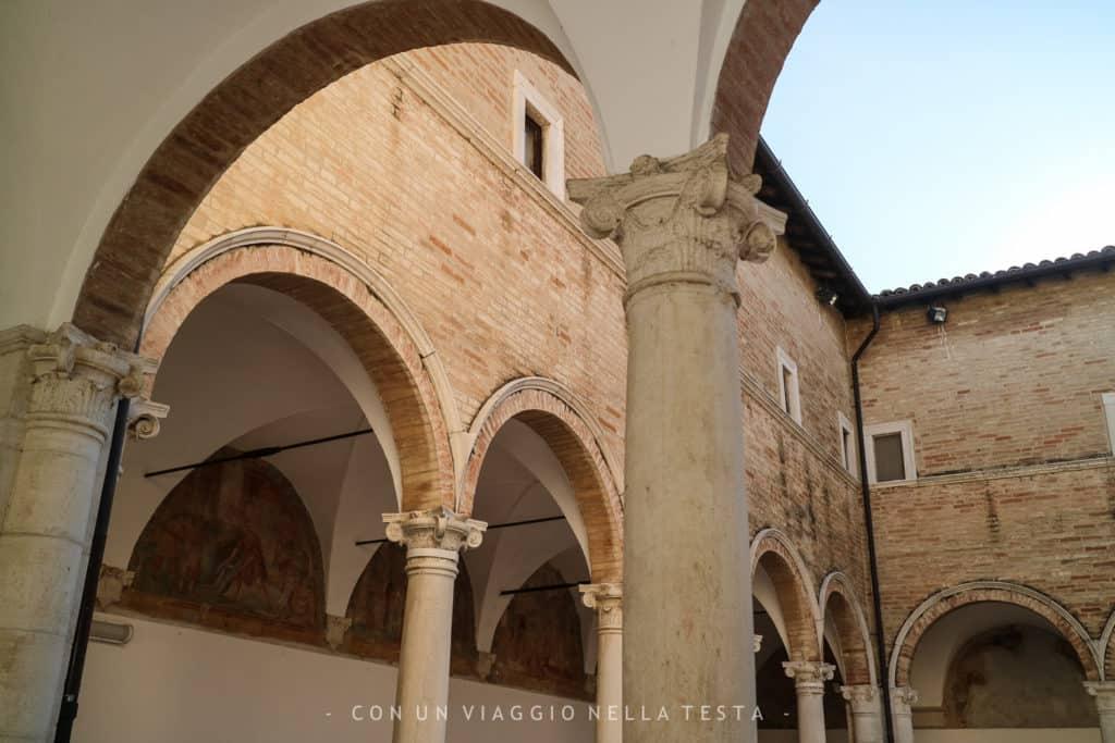 Museo di Storia della Mezzadria Senigallia chiostro