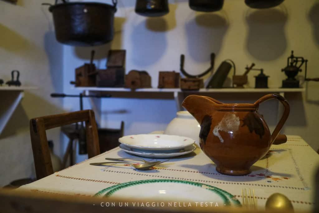 Museo di Storia della Mezzadria Senigallia tavola