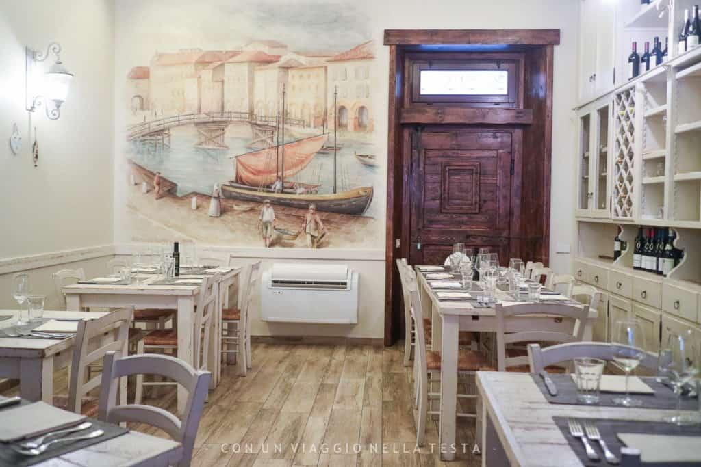 mangiare pesce a senigallia taverna del porto