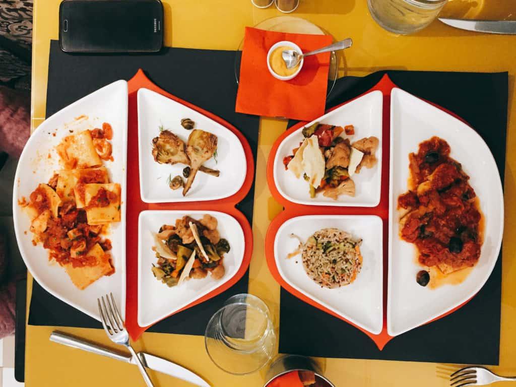ristorante al bacio milano piatti