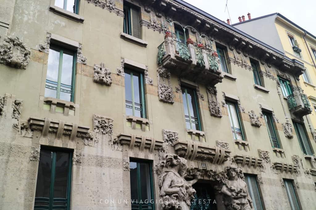 Milano liberty itinerario a piedi di due ore in zona - Cinema porta venezia milano ...