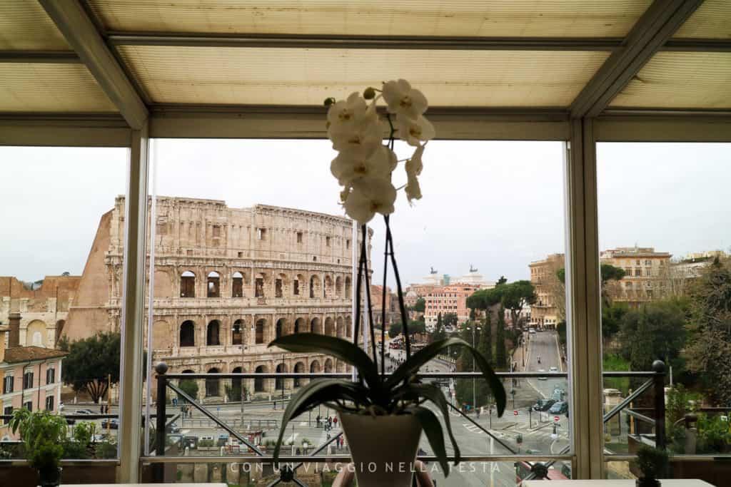 ristorante aroma roma colosseo