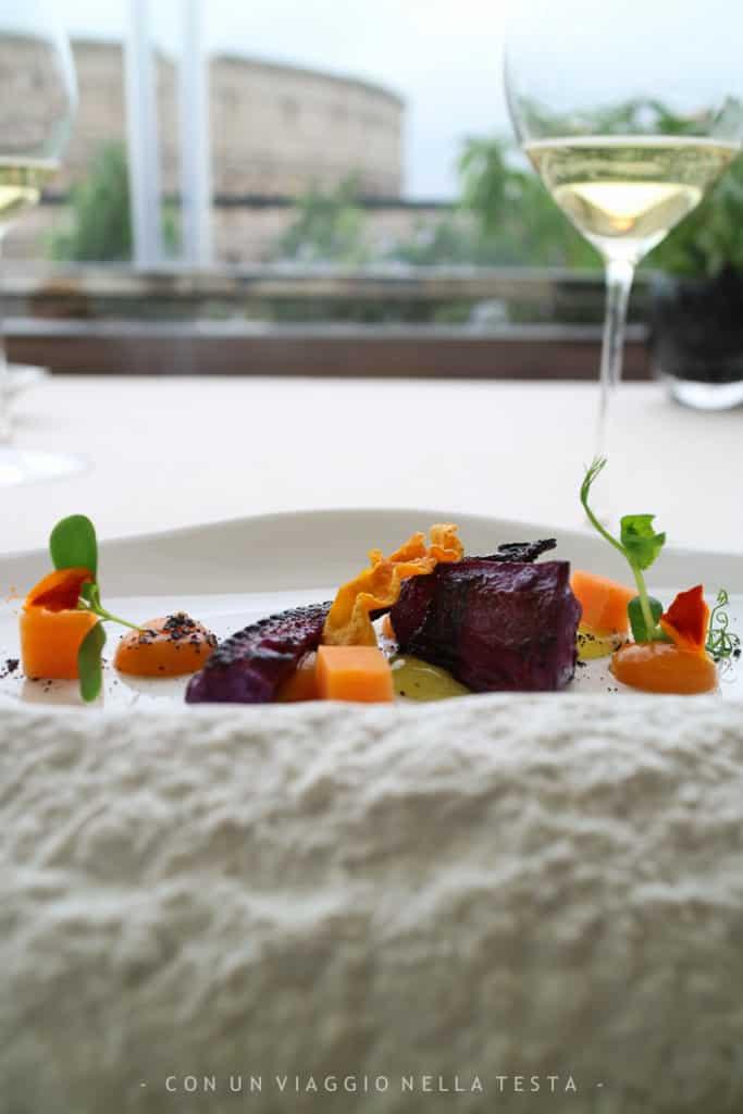 ristorante aroma roma polipo chef di iorio