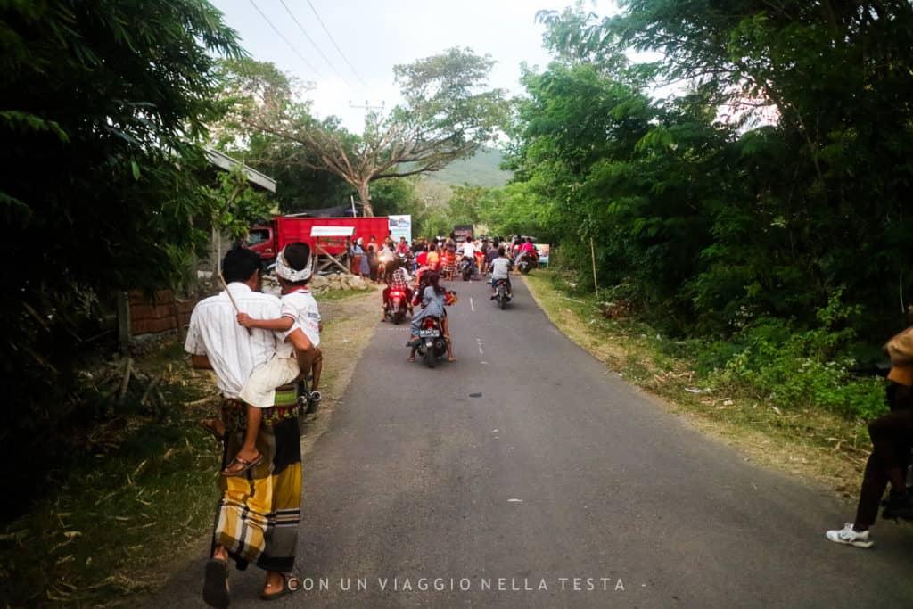 visitare lombok persone