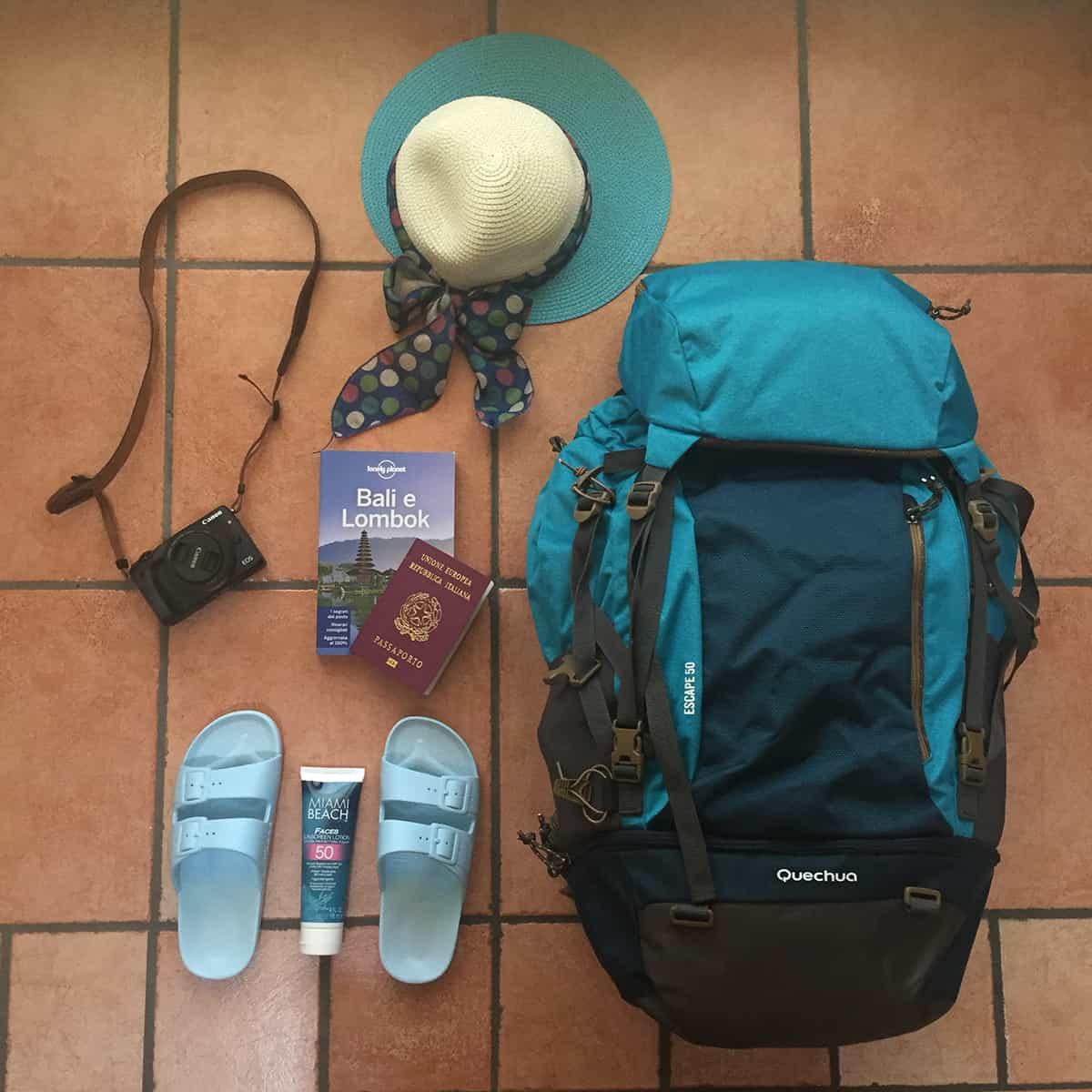 5fbc71b05b Preparare lo zaino per un viaggio, i consigli per la prima volta