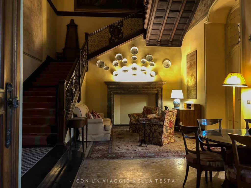 La stanza dello Scalone di Casa Atellani vigna di leonardo