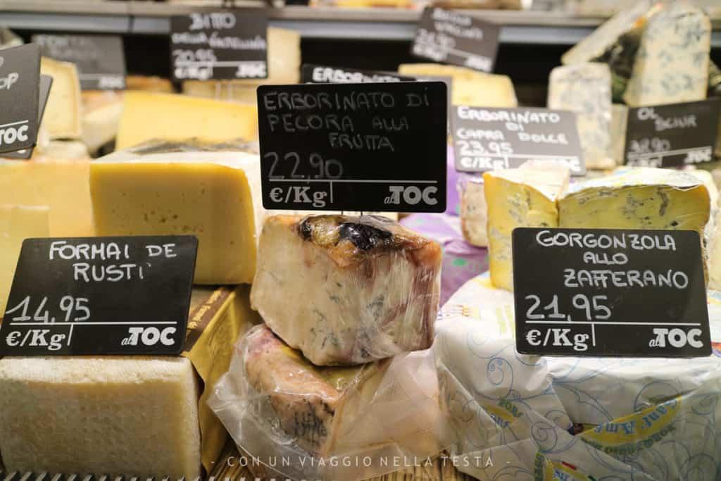 alTOC Magenta, la scelta dei formaggi