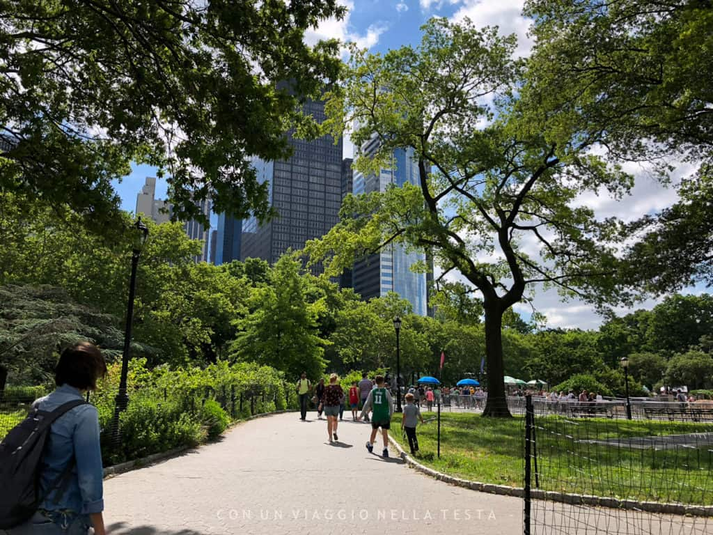 cose da fare in estate a new york battery park