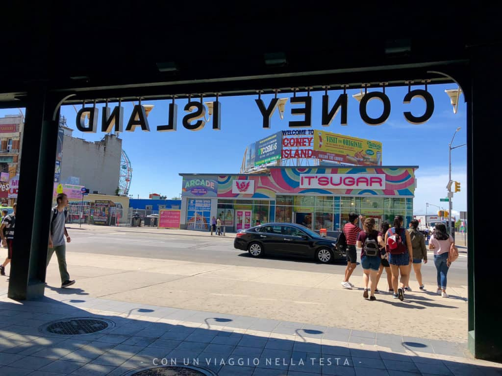 cose da fare a new york in estate coney island