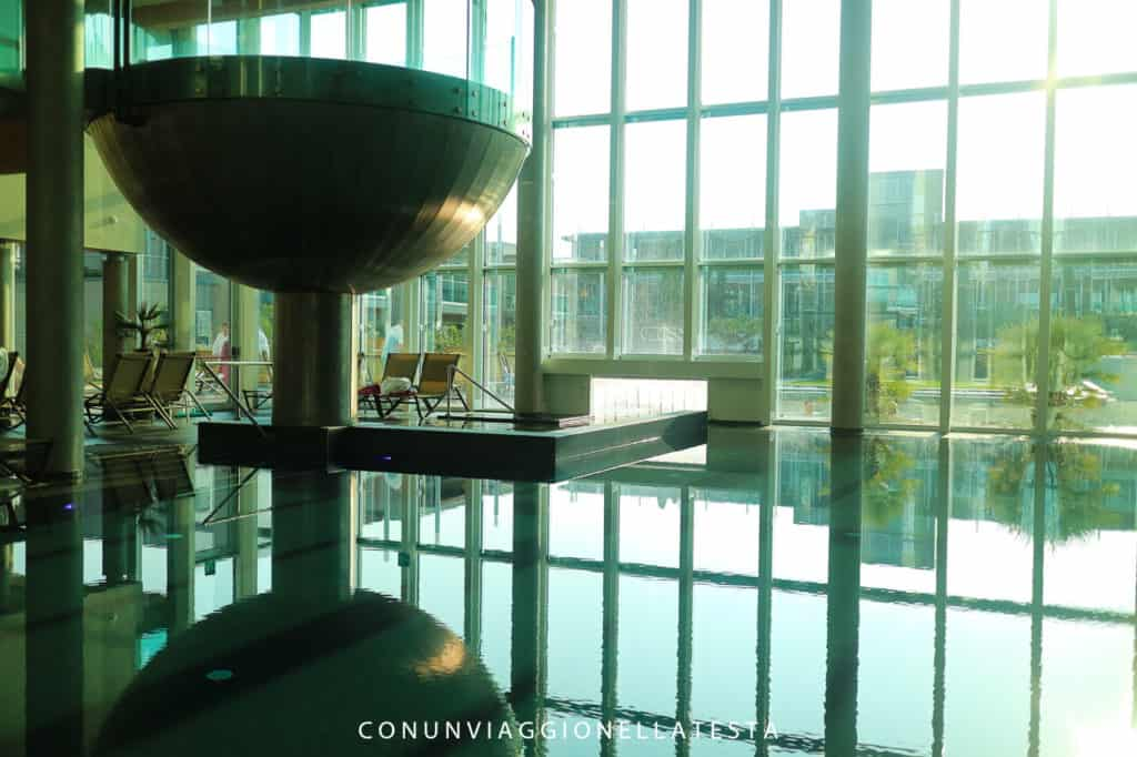Le piscine indoor di Aqualux Bardolino