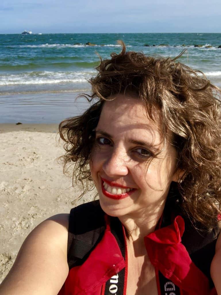 travel blogger chiara carolei con un viaggio nella testa