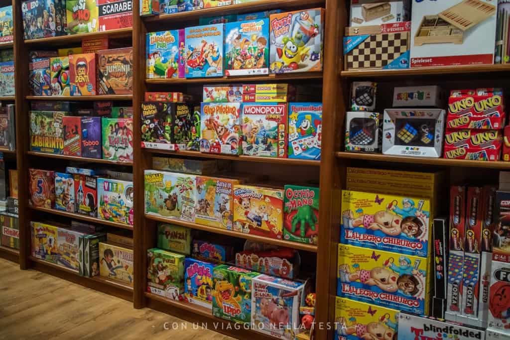 negozio di giocattoli a Milano centro nano bleu