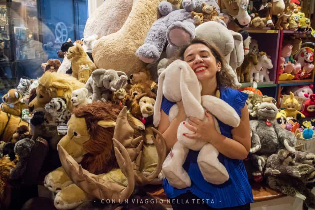negozio di giocattoli a Milano centro nano bleu chiara carolei
