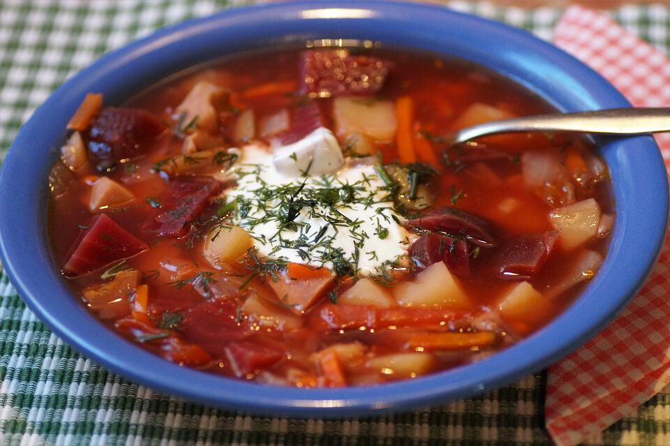 viaggio in russia zuppa