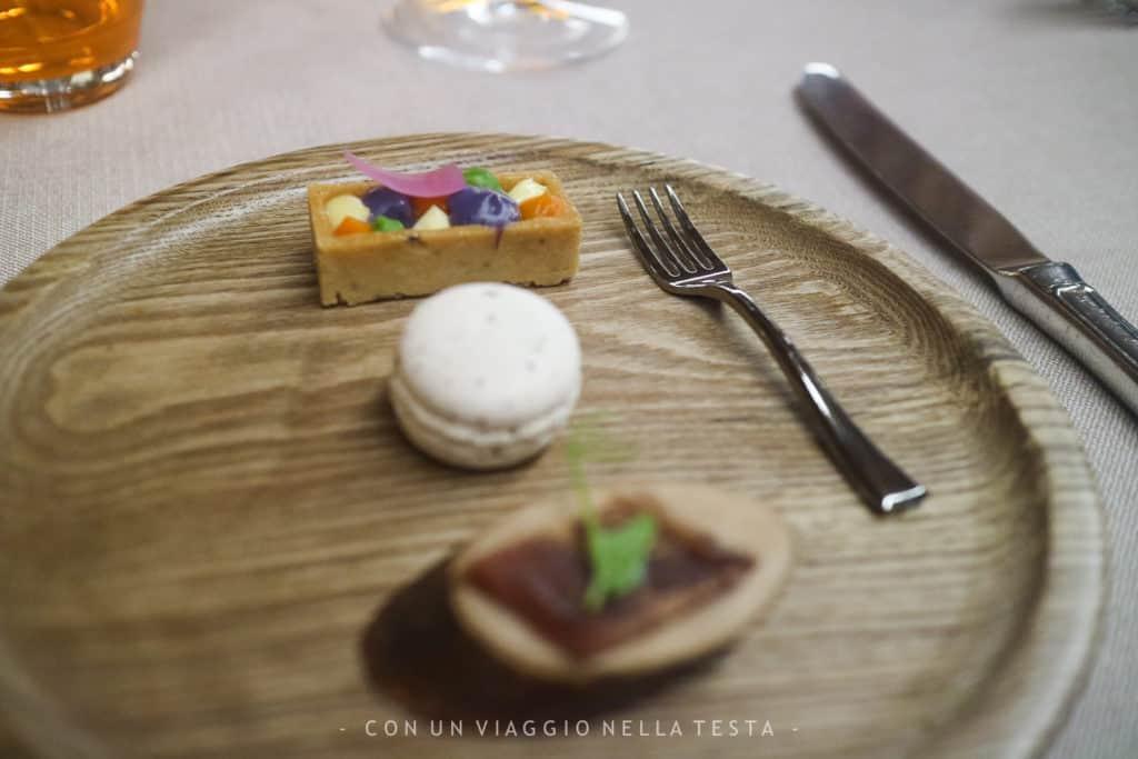 Il benvenuto dello chef Stefano Basello al Ristorante Il Fogolar all'interno dell'Hotel Là di Moret