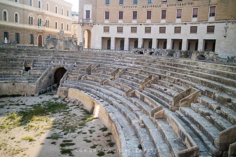 cosa vedere a lecce anfiteatro romano