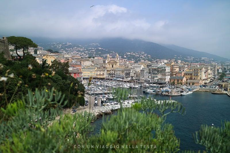 corsica bastia panorama dalla cittadella