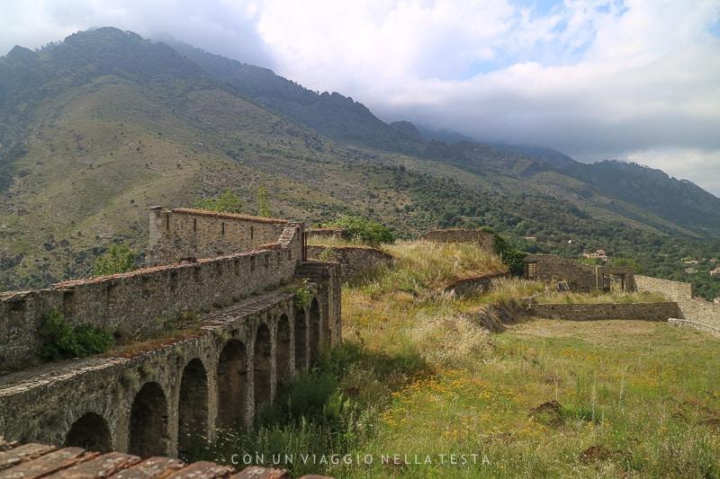 corsica on the road vista dalla cittadella di corte