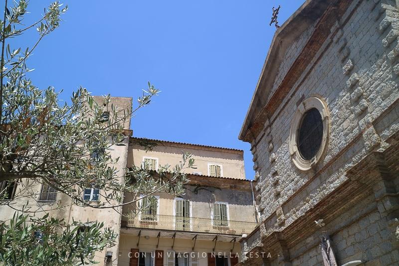 corsica on the road chiesa di porto vecchio