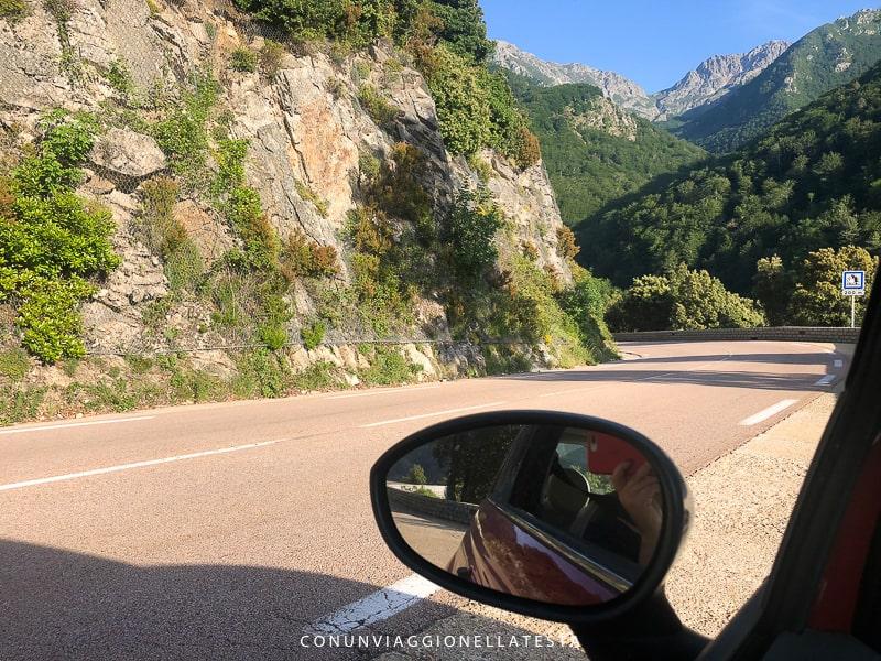 corsica on the road come sono le strade in corsica