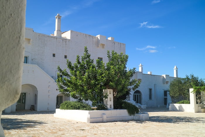 dormire in masseria in salento