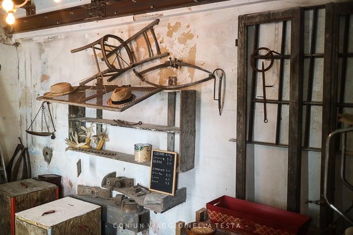 Il piccolo museo del mulino di baggero