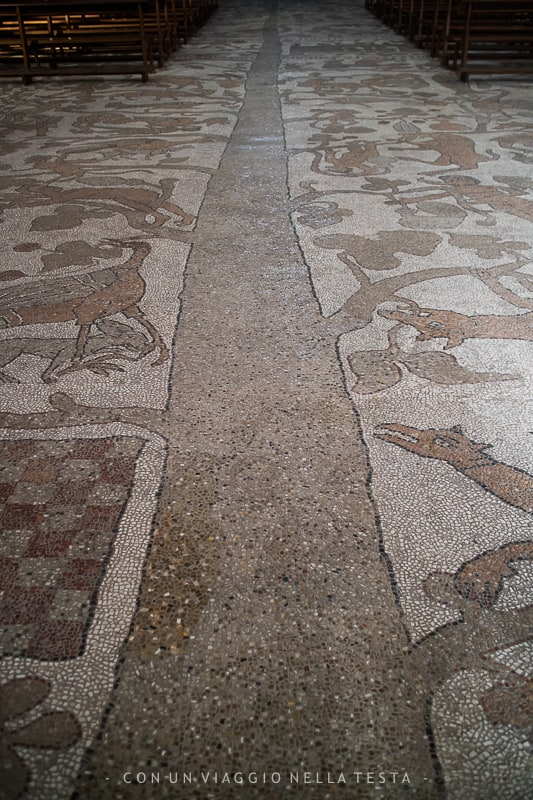 otranto cosa vedere mosaico cattedrale