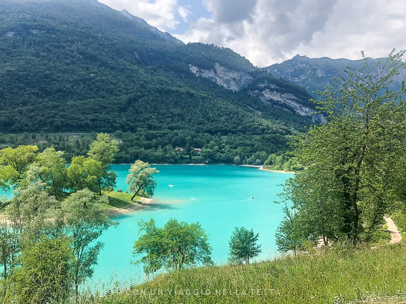 escursione in trentino sul lago di tenno