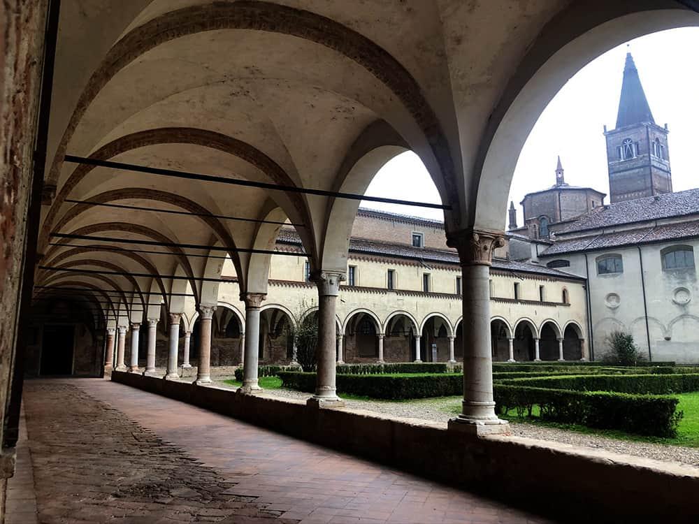 monastero polirone chiostro