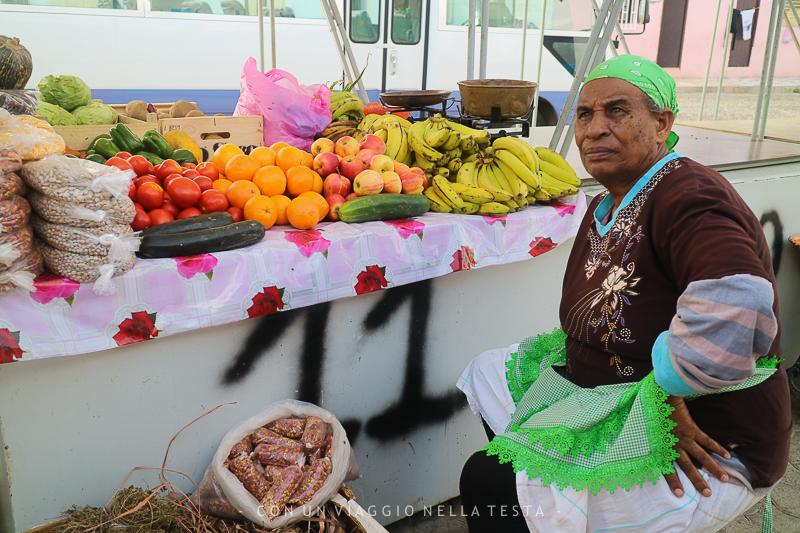 capo verde isola di sal espargos mercato