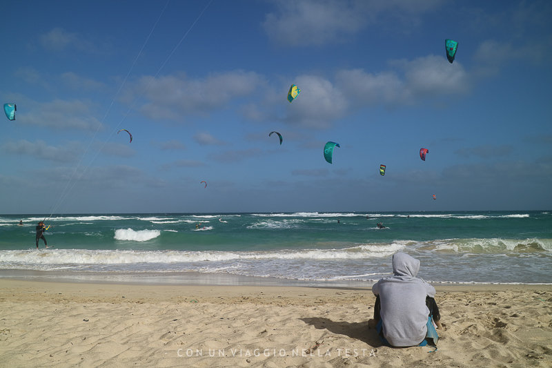 capo verde isola di sal kite surf