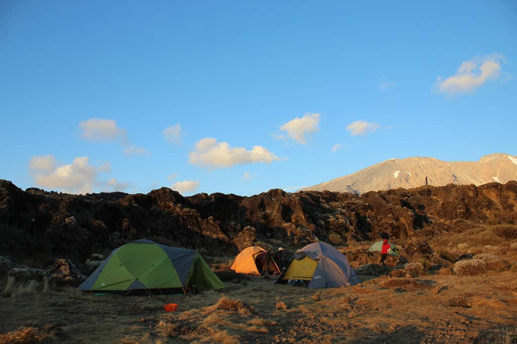 kilimangiaro shera camp