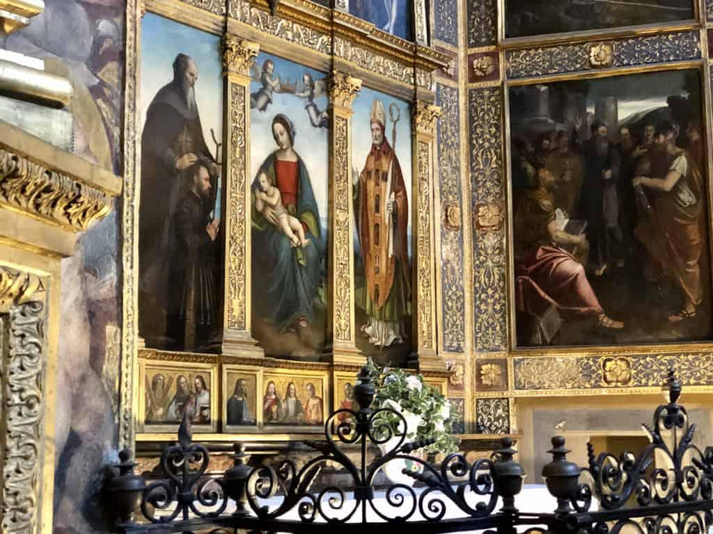 tempio civico dell'incoronata lodi cappella sant'antonio