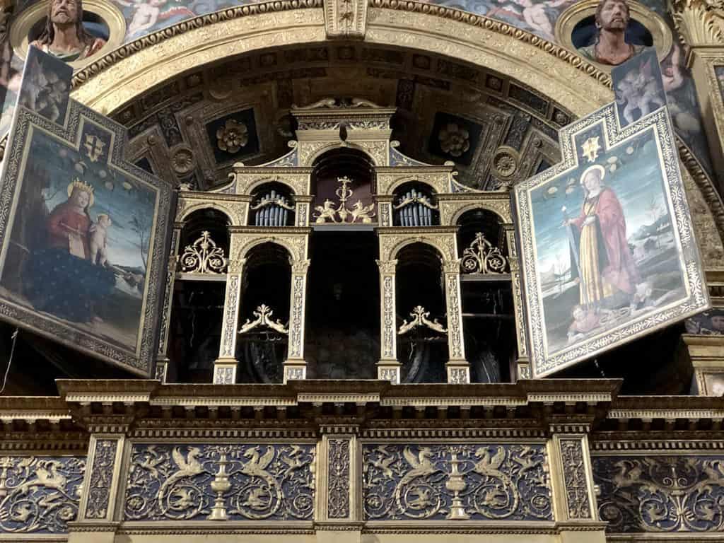 tempio civico dell'incoronata lodi, l'organo