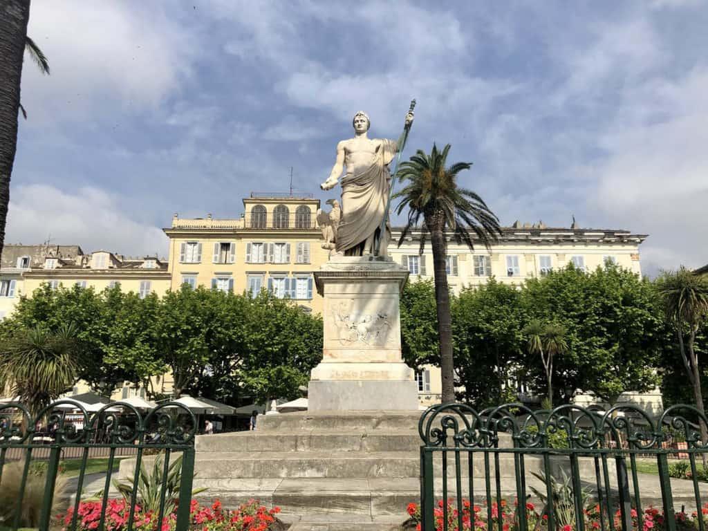 bastia Place Saint Nicolas