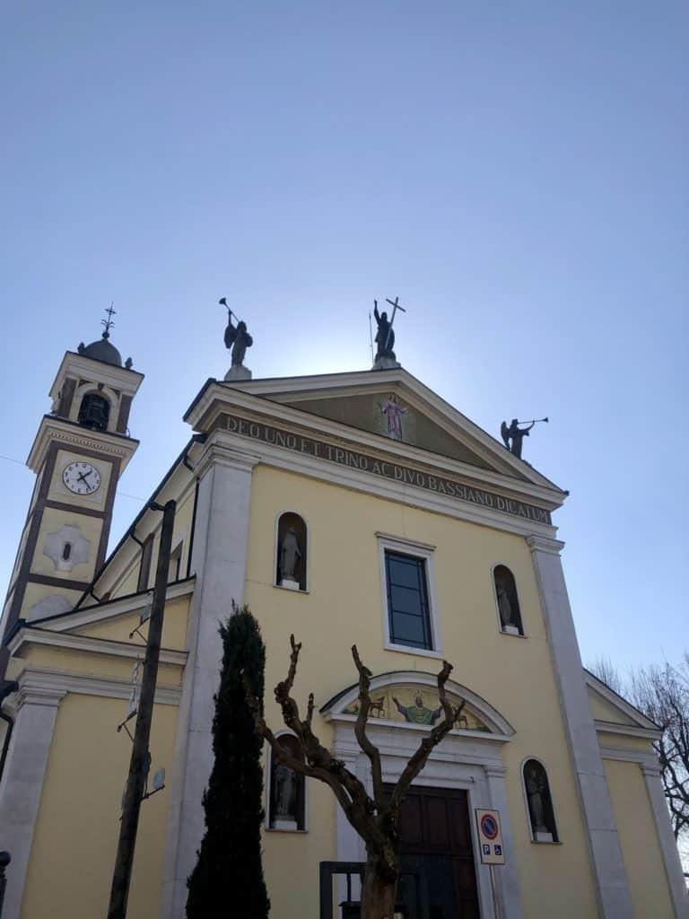 gradella chiesa parrocchiale