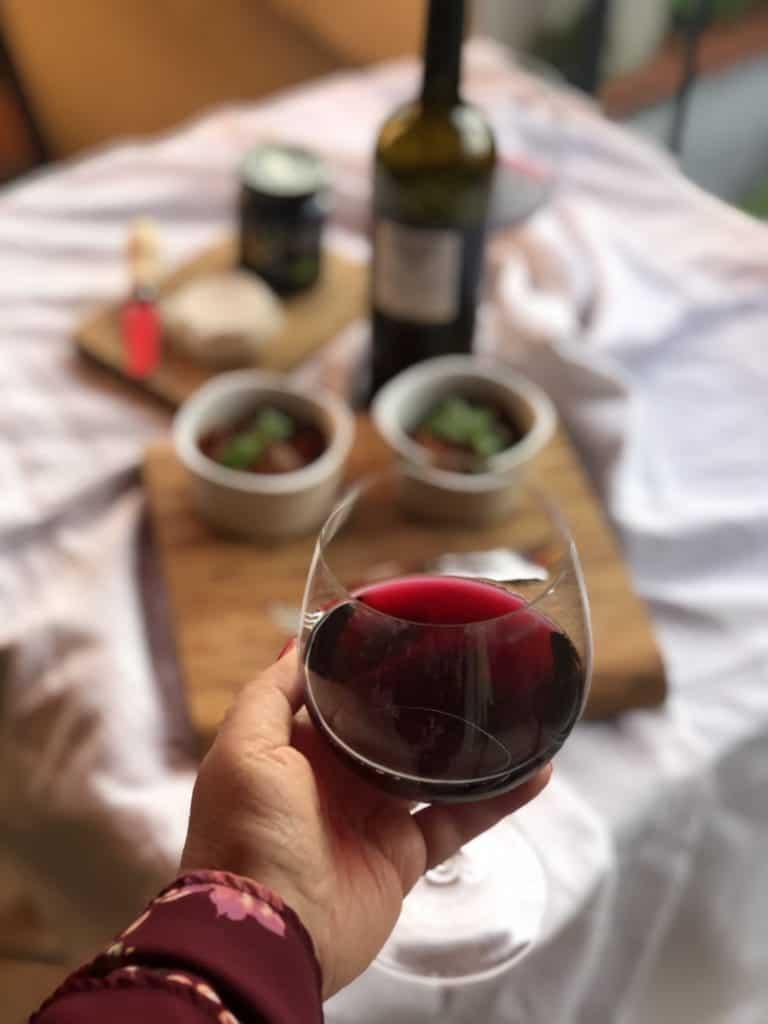 vini rossi per l'estate